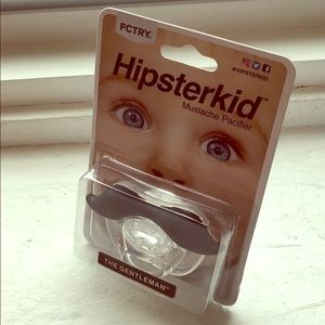 Other - Hipsterkid Mustache Pacifier
